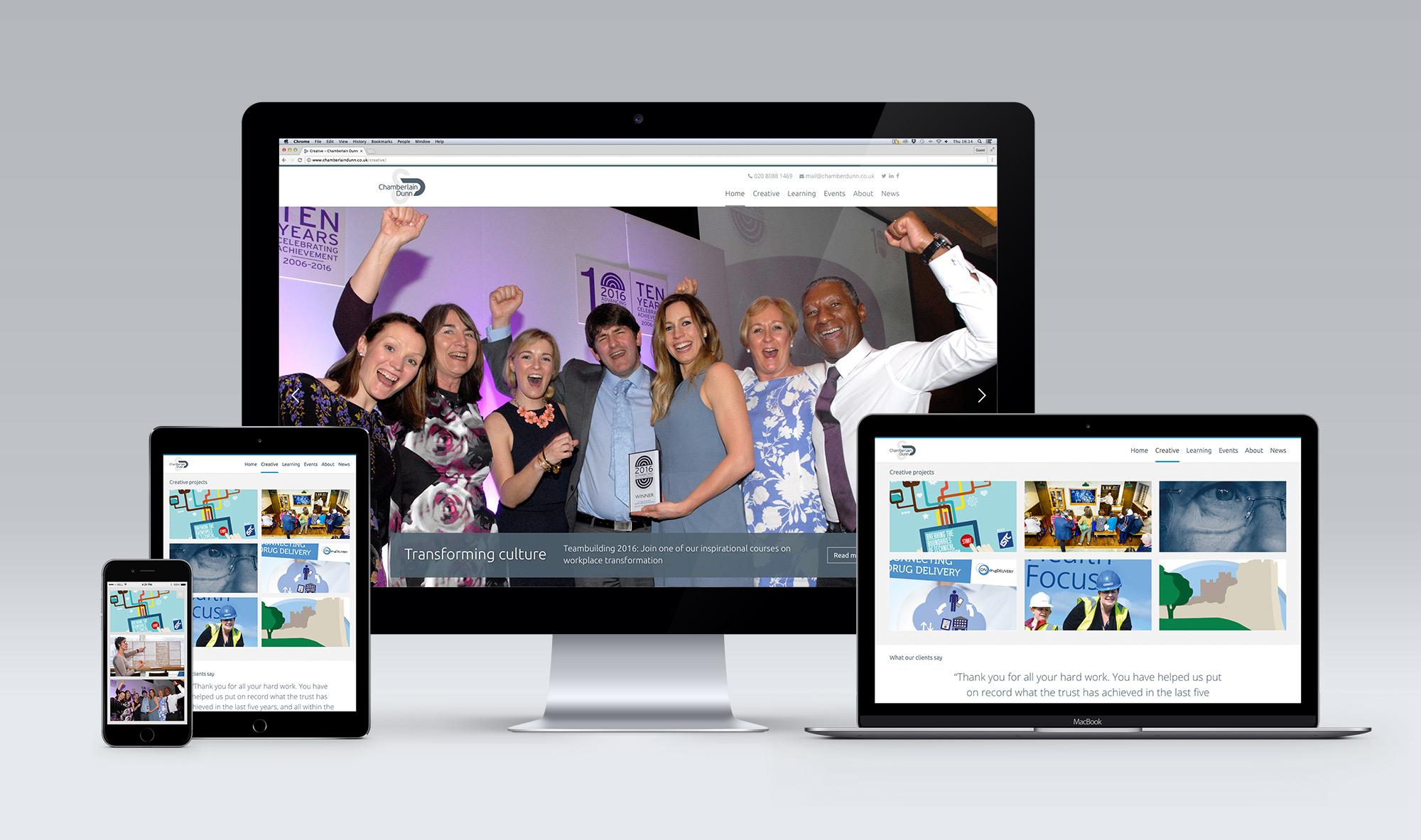 Mobile Friendly Website Design Chamberlain Dunn