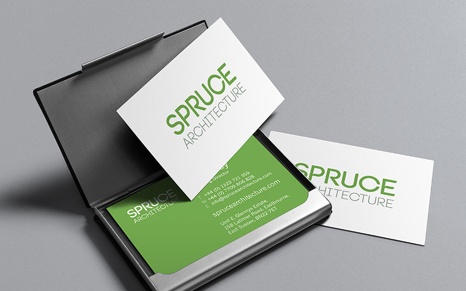 Spruce Architecture Business Stationery