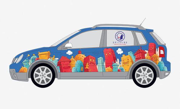 Vehicle Livery Design